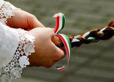 magyar zászló fonat