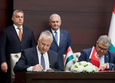 Orbán Viktor; YILDIRIM, Binali; Semjén Zsolt