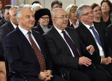 Dobos Menyhért; Semjén Zsolt; Pásztor István