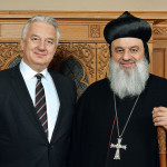 Semjén Zsolt fogadta a szír ortodox pátriárkát