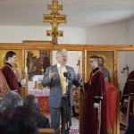 tisztabereki görögkatolikus templom felszentelése