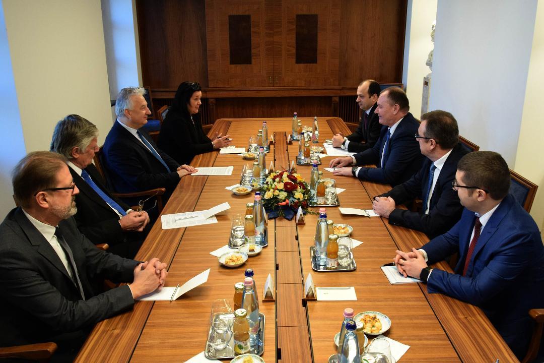 Moldova külügyminiszterét fogadta Semjén Zsolt (Fotó: Váli Miklós)